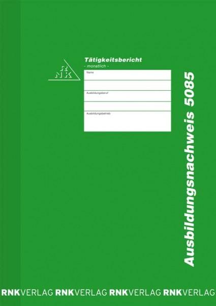 Ausbildungsnachweis - Heft für monatliche Eintragungen 1
