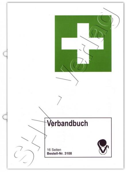 Verbandbuch für die Erste Hilfe Umschlag aussen