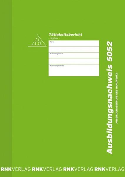 Ausbildungsnachweis - Heft täglich für das Handwerk