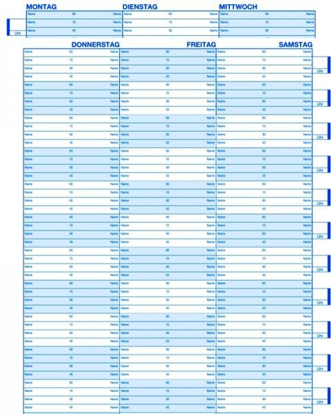 Bestellbuch für 6 Monate