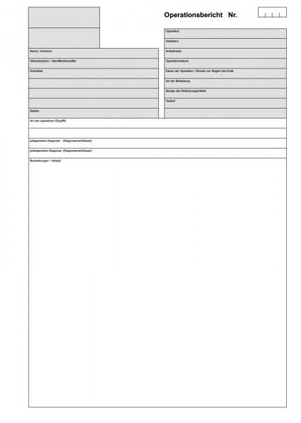 Operationsbericht