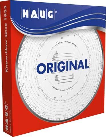 Original HAUG Diagrammscheiben 180 100 (180 km/h Automatik)