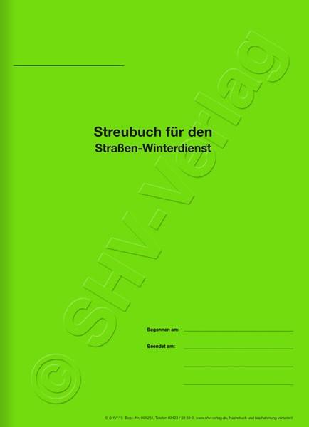 Streubuch Umschlag