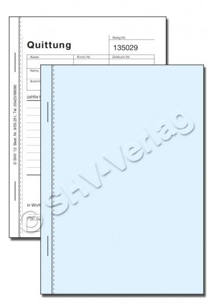 Quittungsblock 2-fach 0905251-2 Titel