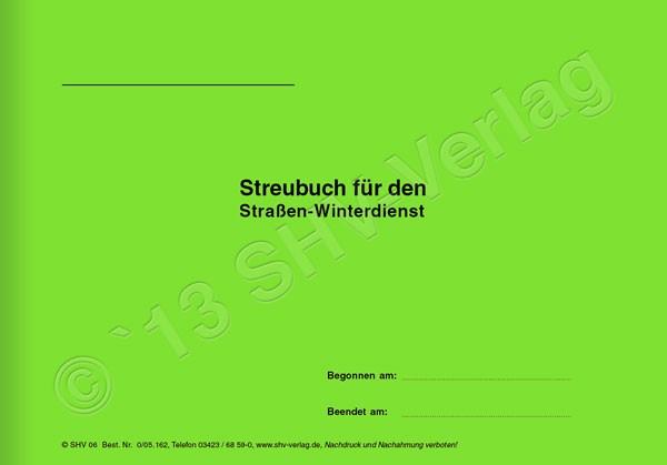 Streubuch Umschlag A5 quer
